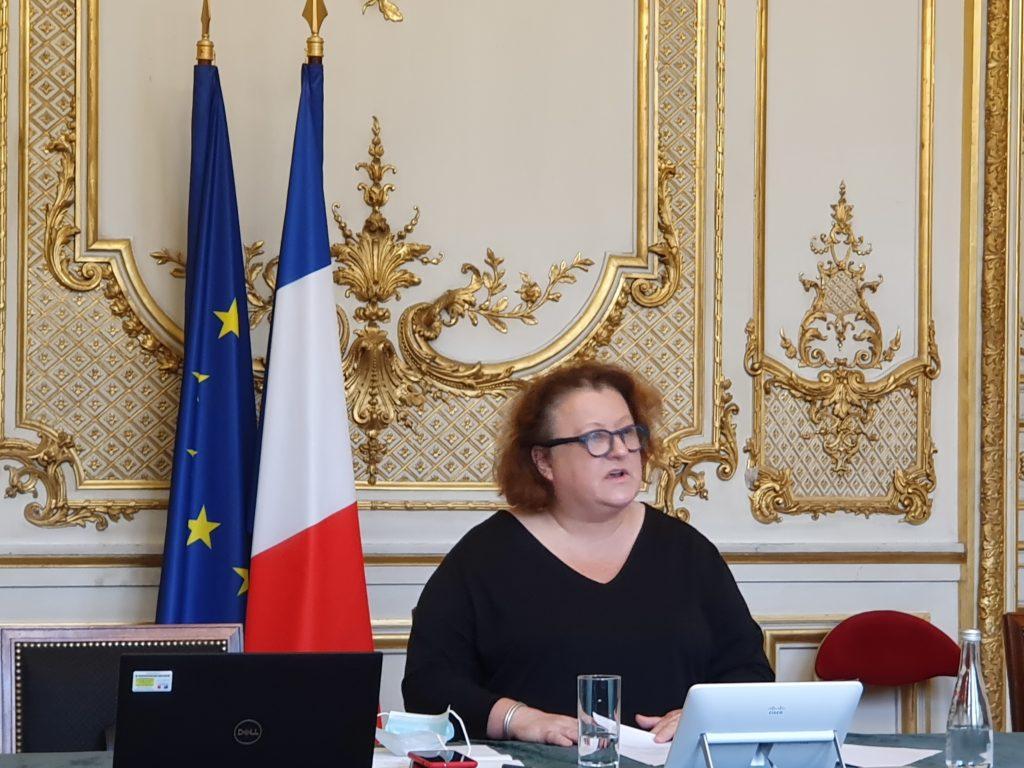 Frédérique Calandra, déléguée interministérielle