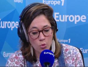 Salomé Legrand prend la parole à Europe 1 pour parler du sujet des enfants secoués